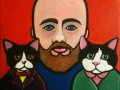 """""""Self-Portrait with Cats"""""""